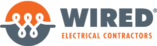 Wired Electrical Contractors Logo